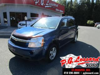 Used 2008 Chevrolet Equinox Ls fwd démarreur a distance for sale in St-Prosper, QC