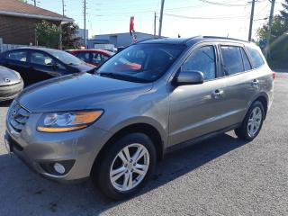 Used 2011 Hyundai Santa Fe Limited, AWD, LEATHER, SUNROOF, 115KM for sale in Ottawa, ON