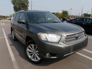 Used 2008 Toyota Highlander Hybrid HIGHLANDER Limited for sale in Toronto, ON
