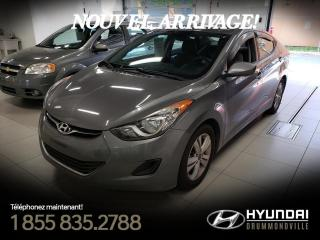Used 2013 Hyundai Elantra GL + GARANTIE + A/C + MAGS + CRUISE + WO for sale in Drummondville, QC
