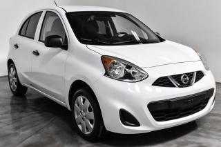 Used 2017 Nissan Micra S HATCH A/C for sale in St-Hubert, QC