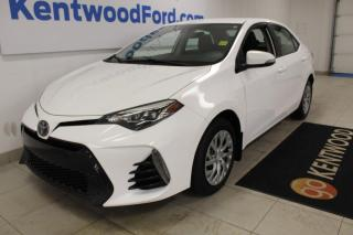 Used 2017 Toyota Corolla SE 4dr FWD Sedan   Auto   Back UP Camera   One Owner   for sale in Edmonton, AB