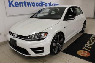 Used 2016 Volkswagen Golf R for sale in Edmonton, AB