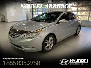 Used 2012 Hyundai Sonata LIMITED TECH + GARANTIE + NAVI + TOIT PA for sale in Drummondville, QC