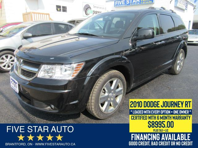 2010 Dodge Journey R/T *ONE OWNER* Certified w/ 6 Month Warranty