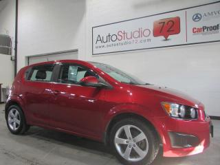 Used 2015 Chevrolet Sonic LT**CRUISE**CAMERA RECUL for sale in Mirabel, QC