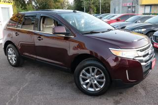 Used 2011 Ford Edge LIMITED/ AWD/ NAVI/ CAM/ LEATHER/ ROOF/ ALLOYS ++ for sale in Scarborough, ON