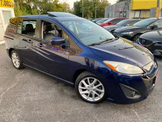 Used 2012 Mazda MAZDA5 GT/ AUTO/ LEATHER/ SUNROOF/ ALLOYS & WARRANTY ++ for sale in Scarborough, ON