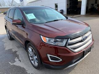 Used 2016 Ford Edge Titanium for sale in Harriston, ON