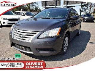 Used 2015 Nissan Sentra *S*BLUETOOTH*CRUISE* for sale in Québec, QC