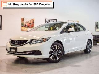 Used 2013 Honda Civic EX | SRoof | RCam | KL Entry | BTooth | ECO | AUX for sale in Pickering, ON