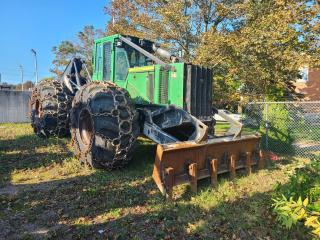 Used 2011 John Deere Other 748H Dual Arch Grapple Skidder for sale in Pembroke, ON