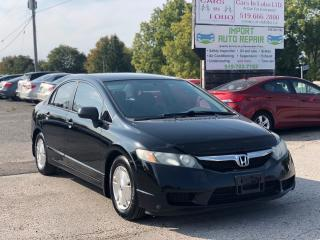 Used 2010 Honda Civic DX-G for sale in Komoka, ON