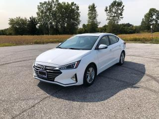 Used 2019 Hyundai Elantra Preferred Sun & Safety for sale in Windsor, ON