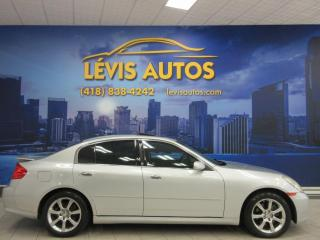 Used 2006 Infiniti G35 AUTOMATIQUE AWD CUIR TOIT OUVRANT TOUT E for sale in Lévis, QC