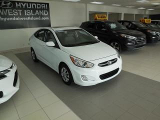 Used 2016 Hyundai Accent SE AUTO TOIT A/C BT CRUISE GROUPE ÉLECTR for sale in Dorval, QC