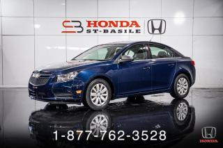 Used 2011 Chevrolet Cruze LS + A/C + AUTOMATIQUE + WOW! for sale in St-Basile-le-Grand, QC