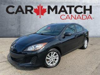 Used 2012 Mazda MAZDA3 GX / NO ACCIDENTS / ONE OWNER for sale in Cambridge, ON