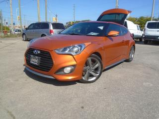 Used 2013 Hyundai Veloster 3dr Cpe Man w/Tech NAVIGATION safety PANORAMIC for sale in Oakville, ON