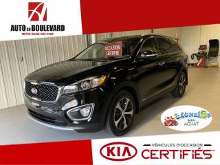 Used 2016 Kia Sorento EX+ V6 AWD TOIT PANO CUIR GRIS RARE BAS for sale in Notre-Dame-des-Pins, QC