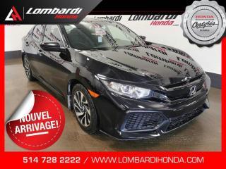 Used 2017 Honda Civic LX|GAR.GLOBALE 09/2021-80K| for sale in Montréal, QC