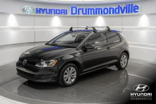 Used 2015 Volkswagen Golf TSI 2015 TREDLINE + GARANTIE + A/C + WOW for sale in Drummondville, QC