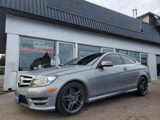 Used 2013 Mercedes-Benz C-Class C 350 AMG Package Coupe for sale in Mississauga, ON