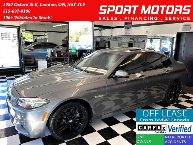 2016 BMW 5 Series 528i xDrive M-PKG+New Tires & Brakes+ACCIDENT FREE