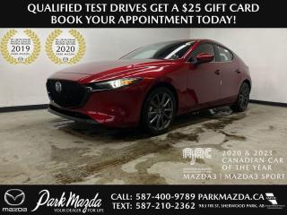 New 2021 Mazda MAZDA3 SPORT GT for sale in Sherwood Park, AB