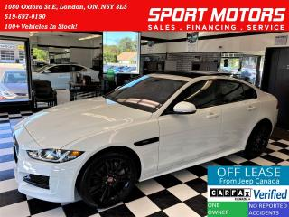 Used 2018 Jaguar XE R-Sport AWD+Lane Keep Assist+ACCIDENT FREE for sale in London, ON