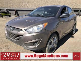 Used 2013 Hyundai Tucson GL 4D Utility 2WD 2.4L for sale in Calgary, AB