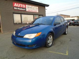 Used 2006 Saturn Ion for sale in St-Hubert, QC