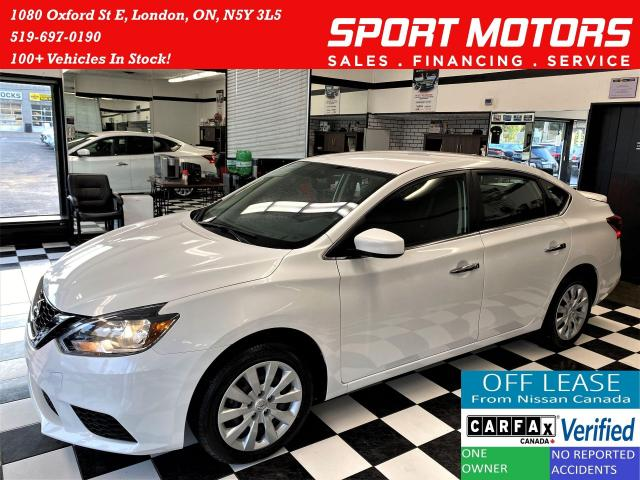 2017 Nissan Sentra SV+Heated Seats+Camera+New Brakes+ACCIDENT FREE