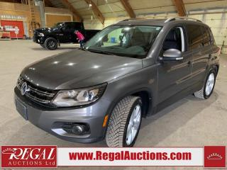 Used 2012 Volkswagen Tiguan TSI 4 MOTION 4D UTILITY AWD for sale in Calgary, AB
