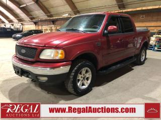 Used 2002 Ford F-150 Lariat SuperCrew 4x4 for sale in Calgary, AB