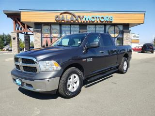 Used 2015 RAM 1500 ST - Four Wheel Drive, Crew Cab, Bluetooth for sale in Nanaimo, BC