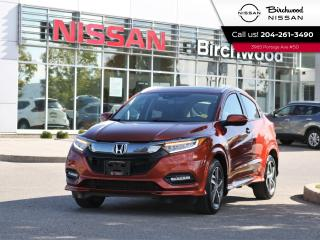 Used 2019 Honda HR-V Touring Leather Navigation No Accidents for sale in Winnipeg, MB