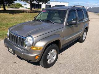 Used 2005 Jeep Liberty Limited DIESEL for sale in Cambridge, ON