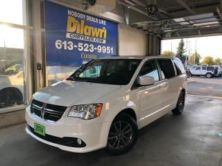 Used 2016 Dodge Grand Caravan Premium Plus | Power Doors, DVD & Navi for sale in Nepean, ON