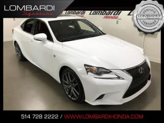 Used 2016 Lexus IS 300 FSPORT2|AWD|NAVI|CUIR| for sale in Montréal, QC
