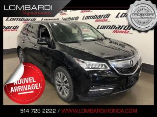 Used 2016 Acura MDX TECH PKG|AWD|NAVI|CUIR| for sale in Montréal, QC