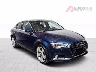 Used 2018 Audi A3 KOMFORT QUATTRO CUIR TOIT for sale in St-Hubert, QC
