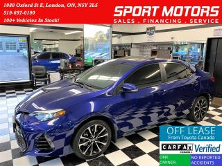 Used 2017 Toyota Corolla SE+Tinted+Sunroof+Adaptive Cruise+ACCIDENT FREE for sale in London, ON