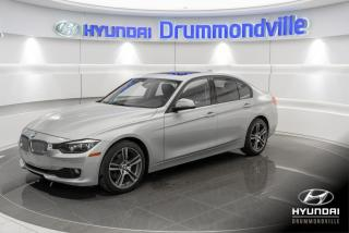 Used 2013 BMW 320 X-DRIVE + GARANTIE + TOIT + CUIR + A/C + for sale in Drummondville, QC