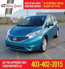 Used 2014 Nissan Versa Note SL  | $0 DOWN - EVERYONE APPROVED! for sale in Calgary, AB