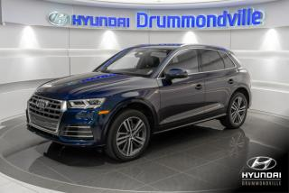Used 2018 Audi Q5 2.0T PROGRESSIV + S-LINE + GARAN for sale in Drummondville, QC