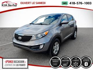 Used 2015 Kia Sportage * LX* TRACTION AVANT* MANUELLE* BLUETOOT for sale in Québec, QC