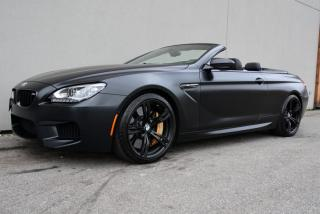 Used 2015 BMW M6 Cabriolet Frozen Black & M Carbon Ceramic Brakes for sale in Vancouver, BC