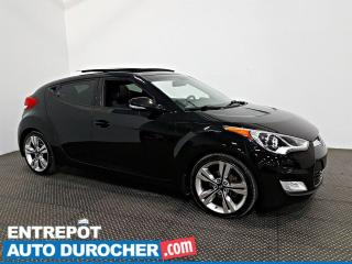 Used 2015 Hyundai Veloster TECH NAVIGATION - Toit Ouvrant - A/C - Semi cuir for sale in Laval, QC