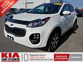 Used 2017 Kia Sportage SX Turbo AWD ** NAVI / CUIR / TOIT for sale in St-Hyacinthe, QC